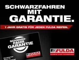 Schwarzfahrgarantie von Fulda