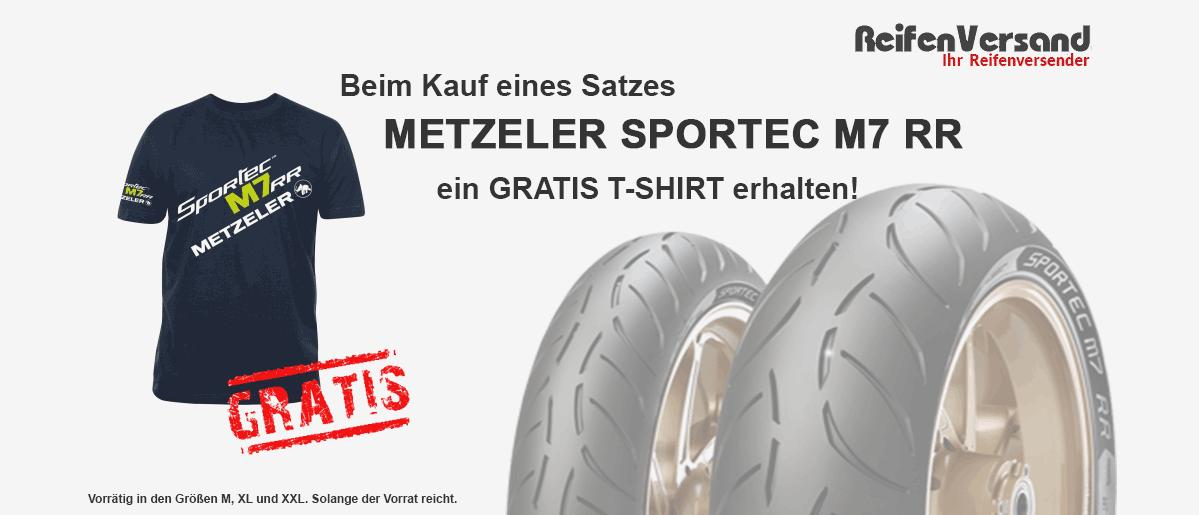 Metzeler Promo Aktion Sportec M7 RR