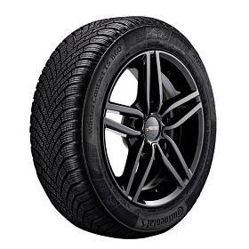 Winterkomplettrad schwarz BMW 3er E90 Autec Kitano 7x16 5x120 ET 31 + 205/55R16 91H Continental TS 860