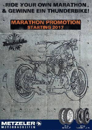 Metzeler Motorradreifen Promotion