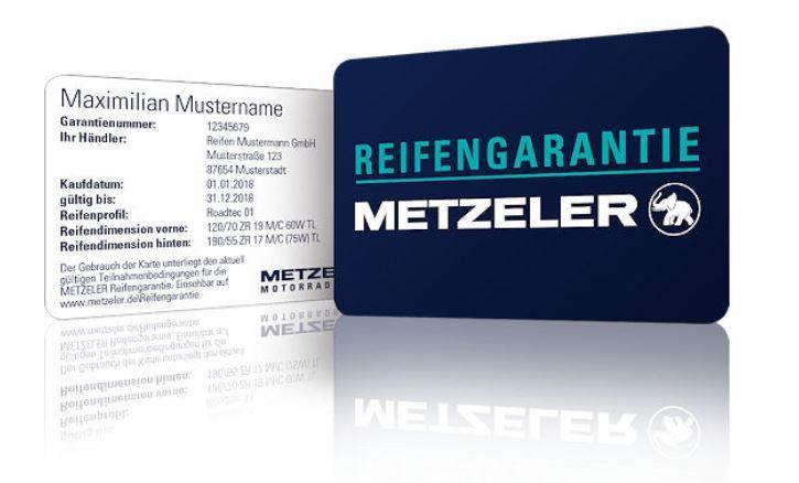 Kostenlose Reifengarantie Metzeler M7 RR Sportec